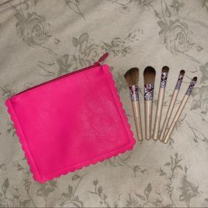 *BRAND NEW* EcoTools Travel Brush Set & Makeup Bag